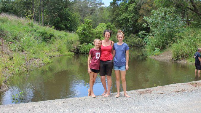 At Canungra Creek