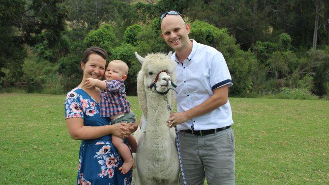 Danau family at Mountview Alpaca Farm